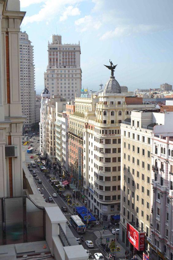Gran Vía-Plaza d España-Princesa