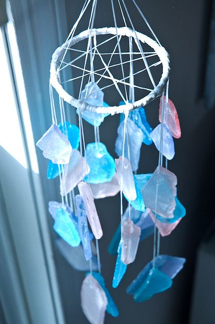 #sea glass #mobile #crafty