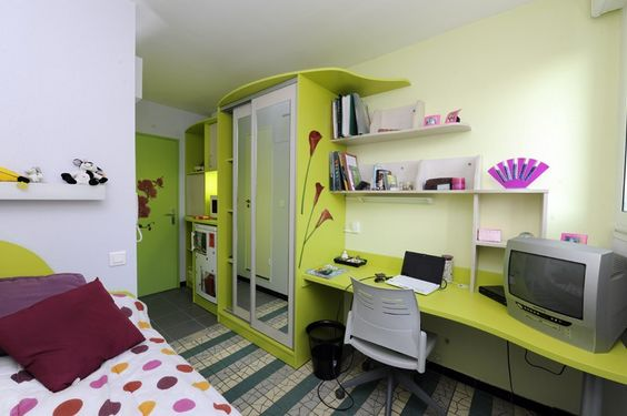 résidence crous : Cité u. Colombière MTP (34) Montpellier 05 - Lokaviz