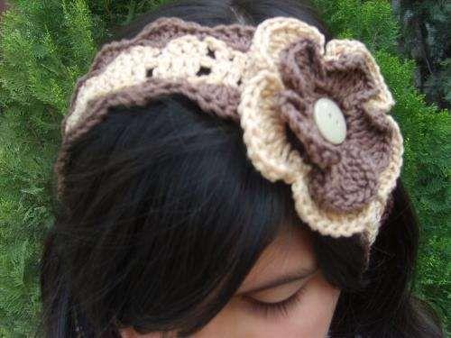 Fotos de diademas tejidas a crochet monterrey ropa - Diademas a crochet ...