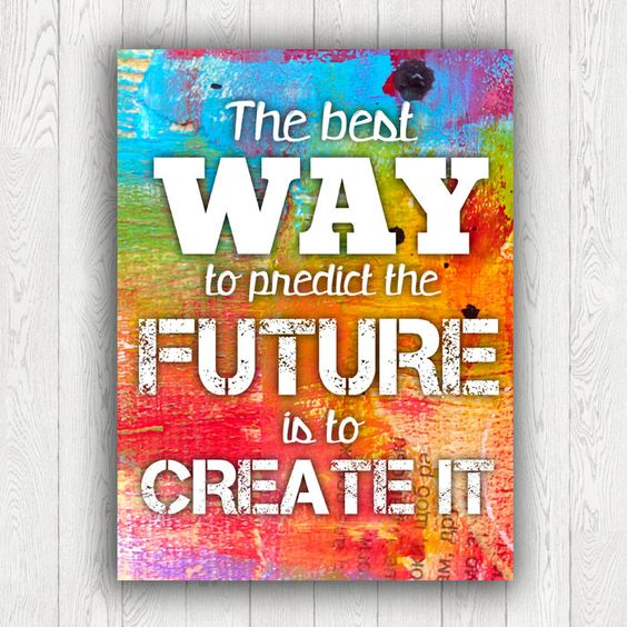 The best Way, PRINTABLE Art, InArt Print, motivational poster, inspirational quote, typography poster, INSTANT DOWNLOAD by InArtPrints on Etsy