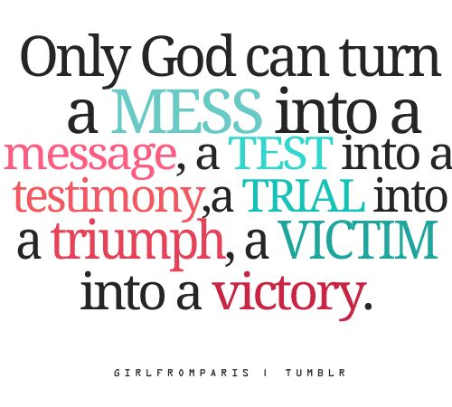 Only God can turn...