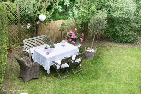 Sitzplatz im Garten Ideen * Garden