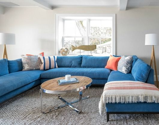 Blue Sofa Decor Ideas In 2020 Blue Sofa Decor Blue Sofas Living Room Sofa Decor