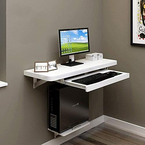Znd Lazy Table Folding Table Wall Mount Desktop Pc Pc Laptop Table Home Office Children Computer Desk Design Computer Table Design Computer Desk Small Space
