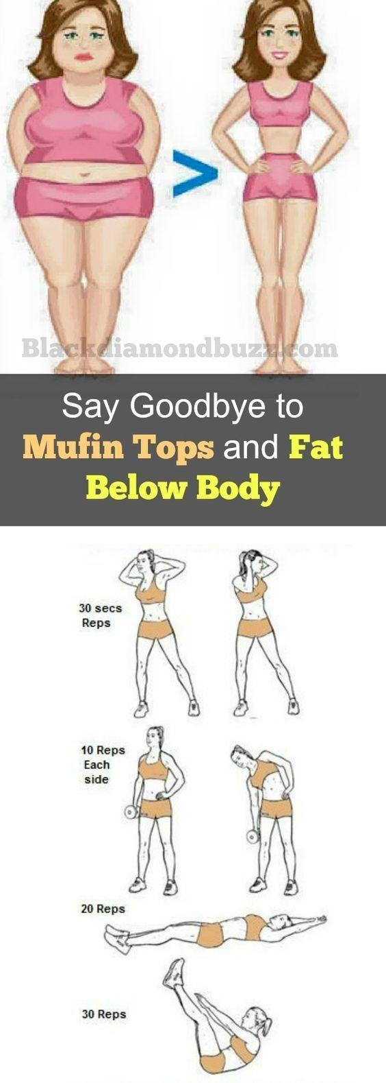 slim down muffin top