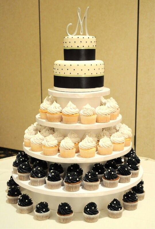 Classy Cupcake Tower | Frosted Inspiration | Pinterest | Classy ...