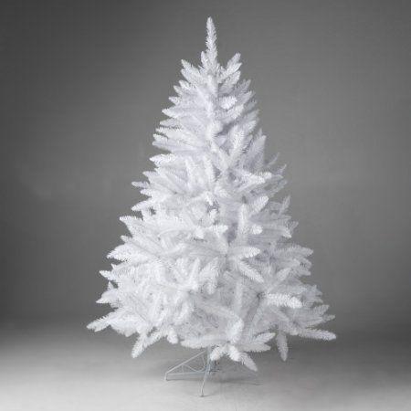 Finley Home Winter Park Tabletop Medium Unlit Christmas Tree   4.5 Ft, White ,