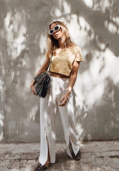 How To Wear A Crop Top And Still Look Stylish
