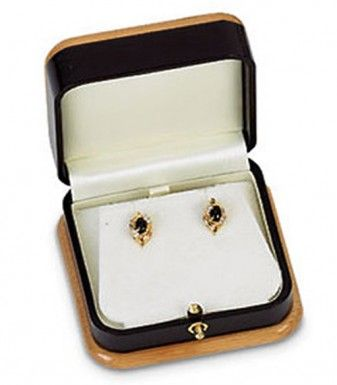 Handcrafted Earring or Pendant Box...(ST61-8002:179730:T).! Price: $19.99 #earringbox #jewelrybox