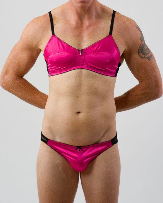 Bra And Panties For Men 77