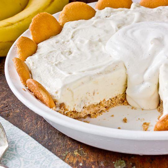 Banana Pudding Ice Cream Pie.
