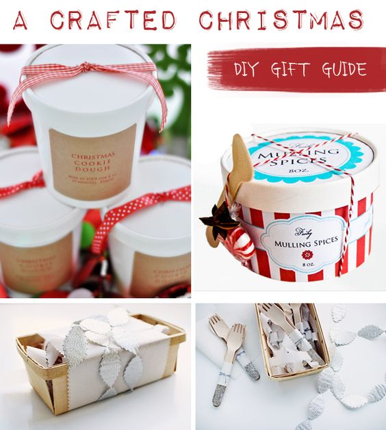 (look at later)...Crafted Christmas Gift Guide, Homemade Gifts, Christmas DIY, Tutorial, How-To, Christmas Crafts, Handmade Gift Ideas, Budget Gifts