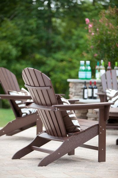 Trex Outdoor Furniture Cape Cod Adirondack Chair Chairs