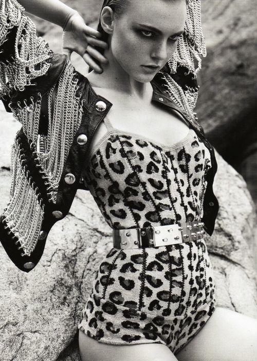 leopard corset, sex kitten