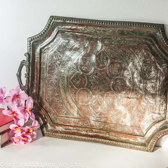 Persian, Tables And Copper On Pinterest