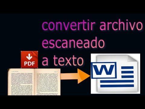 Convertir Imagen A Texto Word Pdf Txt Fácil Y Sin Programas Youtube Informatica Y Computacion Aprender Informatica Computacion