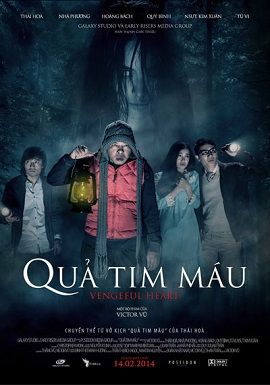 Quả Tim Máu - Vengeful Heart (2014)
