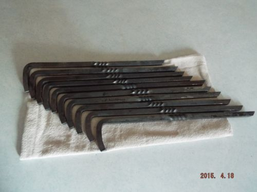 10 Pk. Steel Tent Stakes by HearthfireNordicWare on Etsy $40 The stakes range from 16-17  in length and are 3/8  thick making them sturdy for use u2026 & 10 Pk. Steel Tent Stakes by HearthfireNordicWare on Etsy $40 The ...