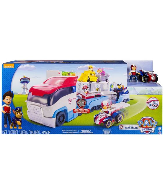 Buy Paw Patrol Paw Patroller at Argos.co.uk - Your Online Shop for Animal playsets and collectables, Character playset and dolls.