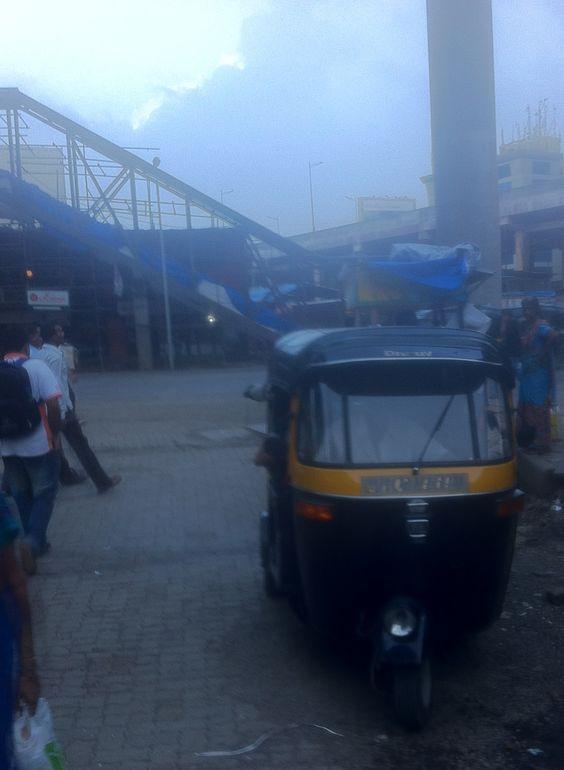 Monsoon on the way. Mumbai.