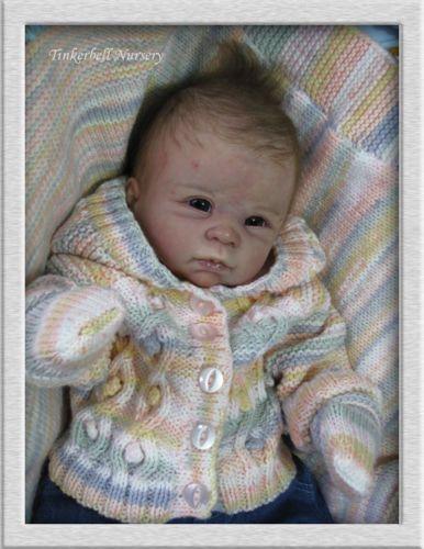 "New Generation Reborn Baby Doll Kit Dani with Girl Torso by Linda Murray 19 20"" | eBay"