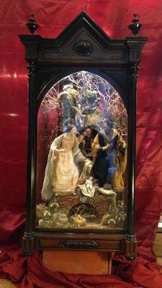 Creche Figures on Pinterest | Antique Dolls, Santos and 18th Century: