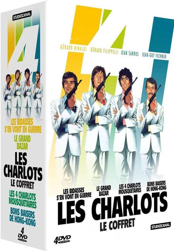 Coffret Les Charlots - DVD