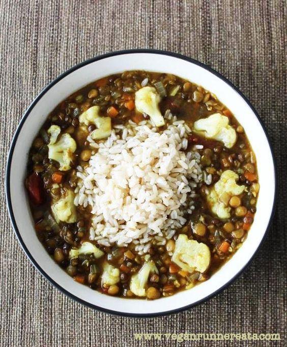 soup for colds vegan lentil soup vegan lentils lentil rice easy lentil ...