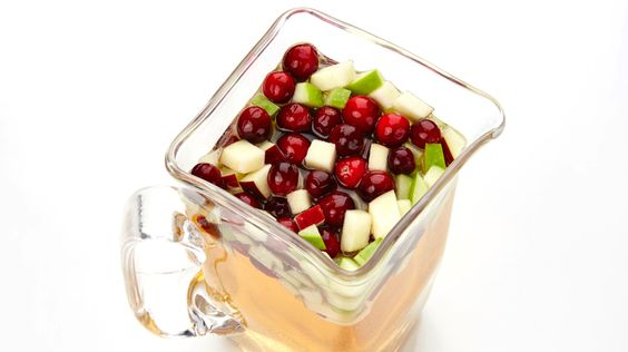 Looking for a party-in-a-pitcher? You`ve found it with this incredibly tasty White Cranberry & Apple Sangria recipe.