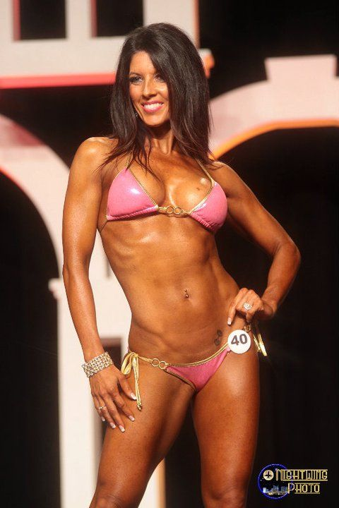 bikini competitor steroids