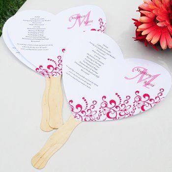 hand fan template printable wedding program fans kit. Black Bedroom Furniture Sets. Home Design Ideas