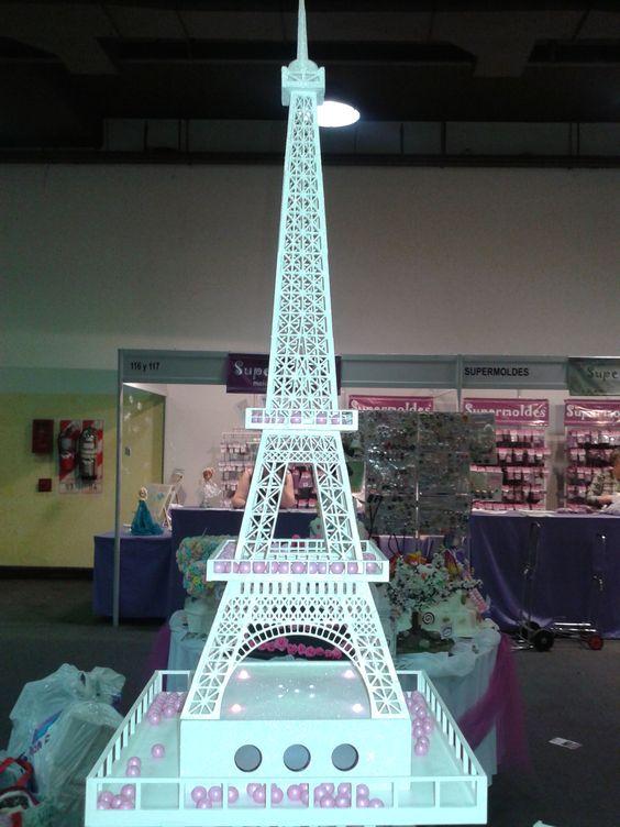 Expo hobby fiestas y decoraci n mesa de estilo mayay - Decoracion de paris ...