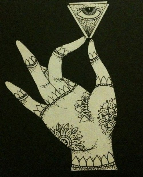 Hand in Akash Mudra , holding the third eye. #intuition #space