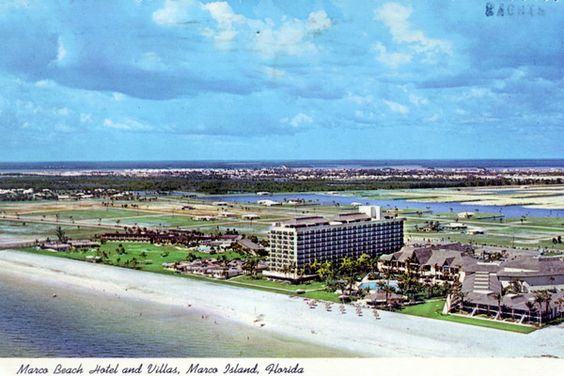 Marco Beach Hotel and Villas - Marco Island, Florida. Circa late 1970s.