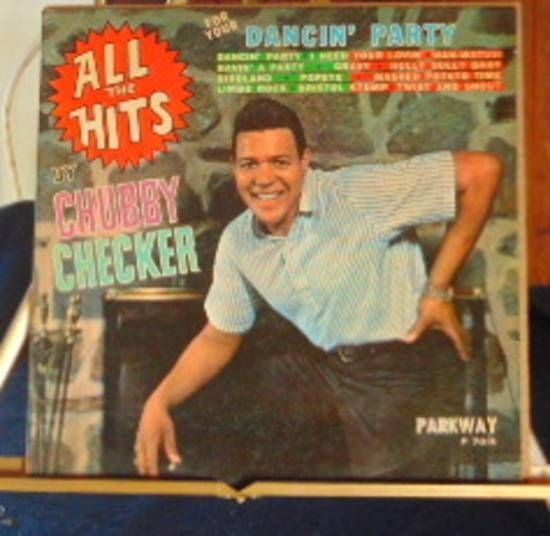 Chubby Checker Lp All The Hits Very Good #ClassicRBContemporaryRBSoul
