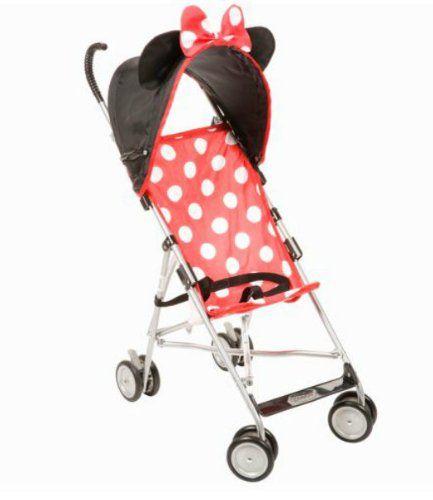 Disney - Character Umbrella Stroller, Minnie | Jogging Stroller ...