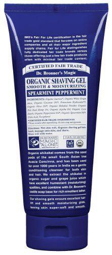 Dr. Bronner - Organic Shikakai Peppermint Shave Gel, 7 fl oz gel by Dr. Bronner, http://www.amazon.com/dp/B0017QPLLO/ref=cm_sw_r_pi_dp_KTfArb0BQ56PR