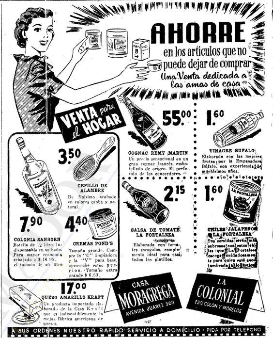 1953 - Supermercado - Anuncio publicado en el Informador Guadalajara, Jalisco México