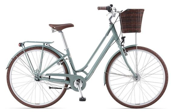 2014 Liv/giant Flourish 1 features neat Nexus internal gear hub, basket and dynamo lights - breezy and elegant vintage style with a modern, lightweight ALUXX aluminium frame.