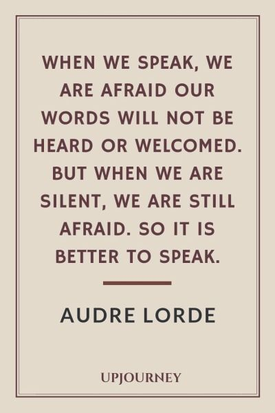 26 Best Audre Lorde Quotes About Feminism Racism Courage Audre Lorde Quotes Black Lives Matter Quotes Speak Quotes