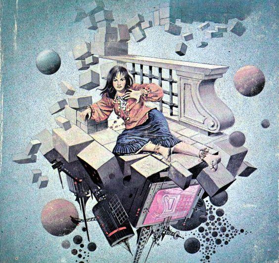 """zensunnirogue: """"Art by Oliviero BERNI - James Blish - Star Trek 4 """""""