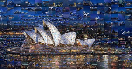 Incredible Photo Mosaics