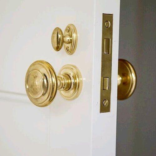 Door Hardware Brandino Brass Unlacquered Brass Hardware Door Hardware Brass Decor