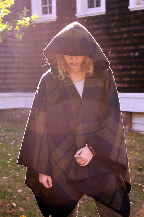 Lex and Lynne - FARIBAULT Shadow Plaid Wool Cape with Hood, $280.00 (http://www.lexandlynne.com/faribault-shadow-plaid-wool-cape-with-hood/)