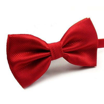 NEW Novelty Wedding Party Polyester Bowtie Noeud Papillon Men Women Bow Tie Solid Color Bolo Neckwear Cheap Cravat