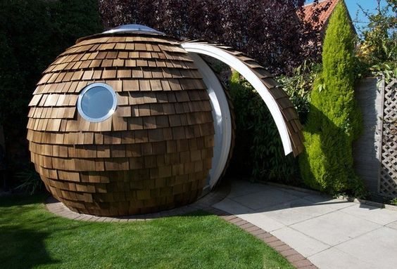 (hmmm well that is interesting;) It is a Home office. Includes a table all around the edges, skylight, and portholes.