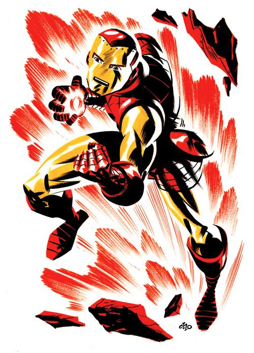 Iron Man by Michael Cho