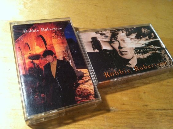Robbie Robertson Storyville cassette & self country rock blues