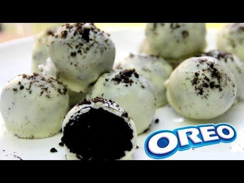 Sin Horno Bolitas De Oreo Con Chocolate Blanco 3 Ingredientes Youtube Bolas De Oreo Bolitas De Chocolate Bolitas De Queso Philadelphia